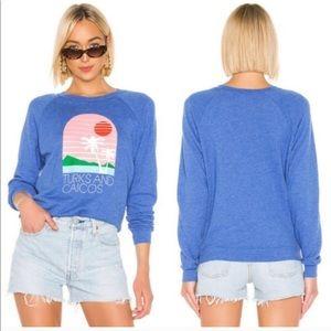 WILDFOX Turks & Caicos Fiona Crew Sweatshirt